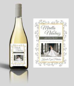 Éclore esküvői címke