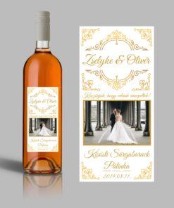Forever esküvői címke