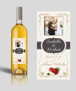 Infinity esküvői címke