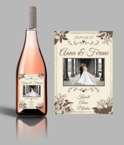 Love esküvői címke