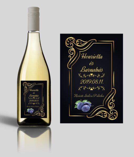 Miracle esküvői címke