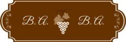 brownish boros nyak címke