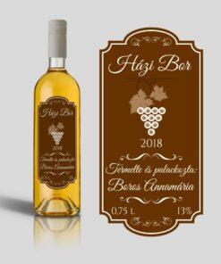 Brownish boros címke