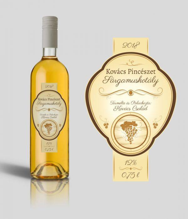 Golden boros címke
